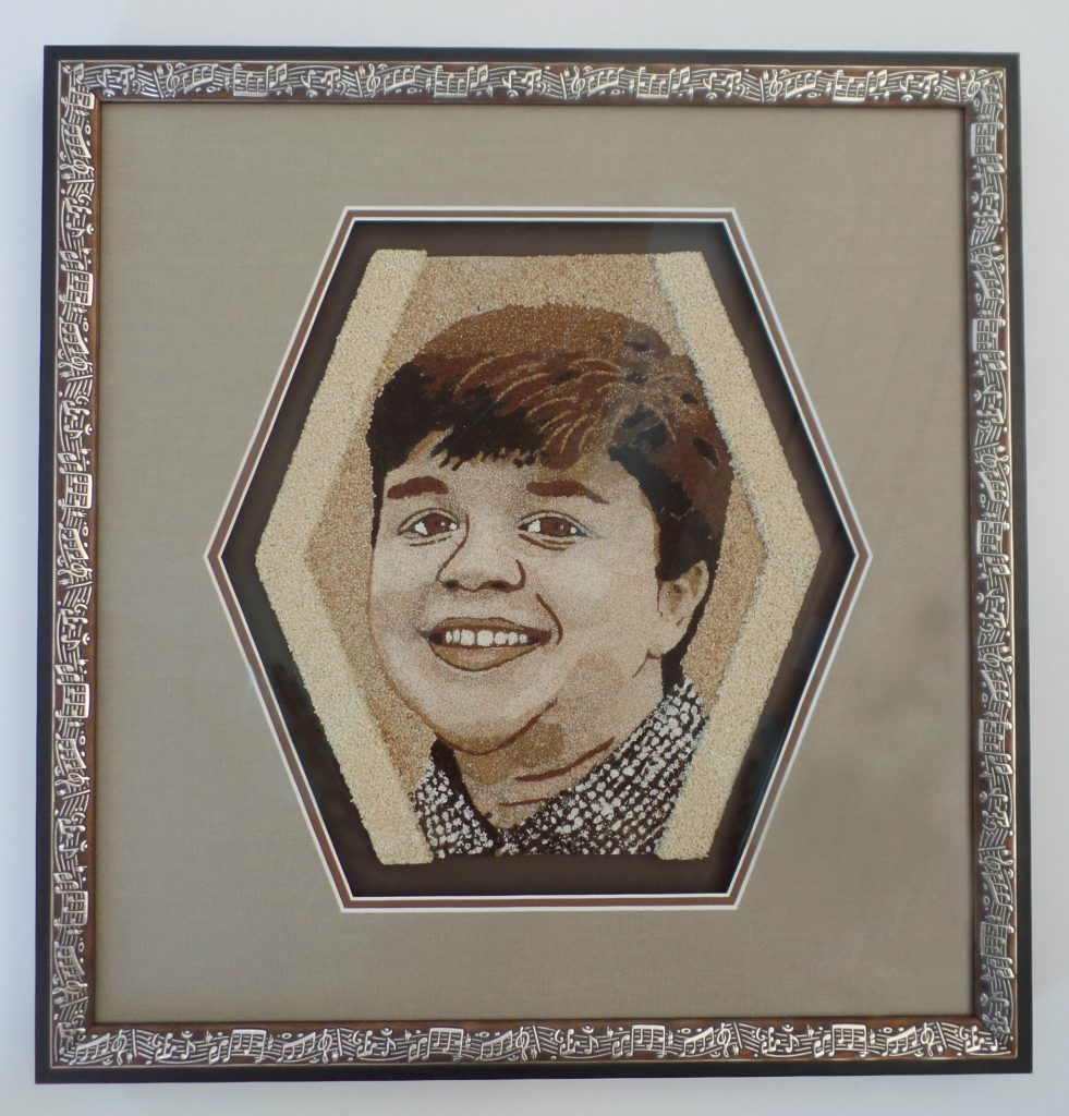 Alix's Rose Bowl Parade Memorial - Matting - Rose City Framemakers