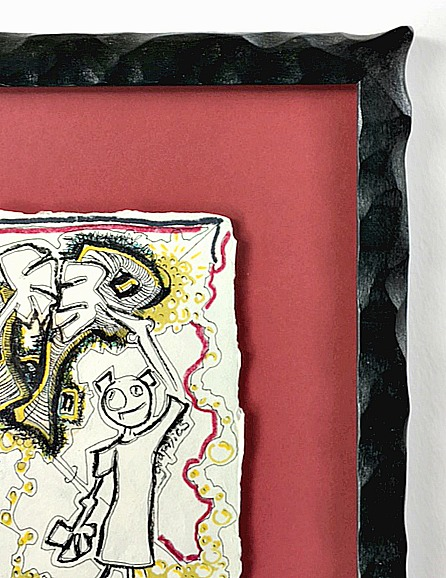 Dancing Couple by Jillian Northrup - Matting - Rose City Framemakers