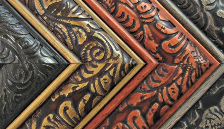 Old Oriental Carved - FPF Moulding - Rose City Framemakers - Madison NJ - Northern NJ - Custom Framing