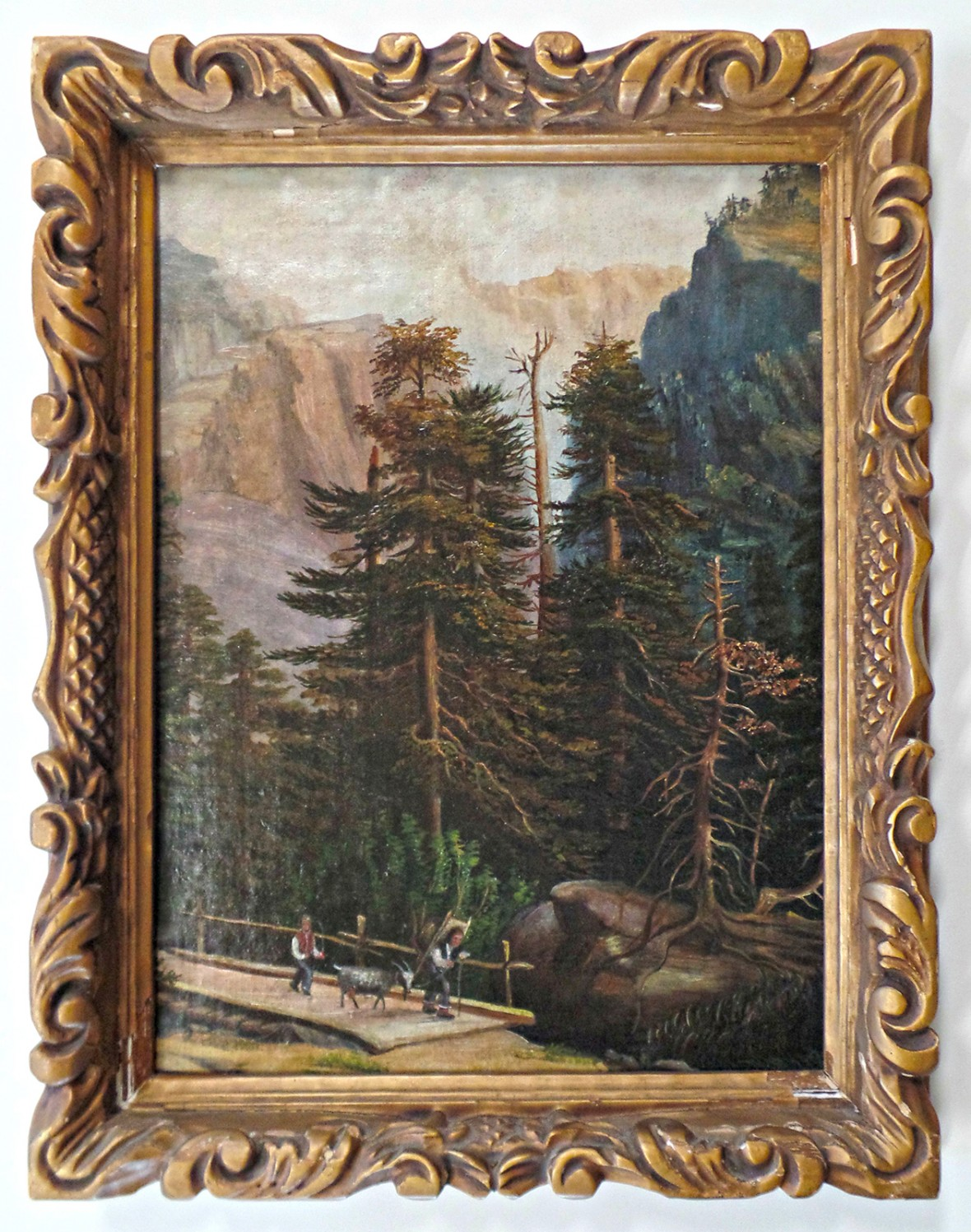 Framed Painting - Framing Art - Rose City Framemakers - Sparta NJ
