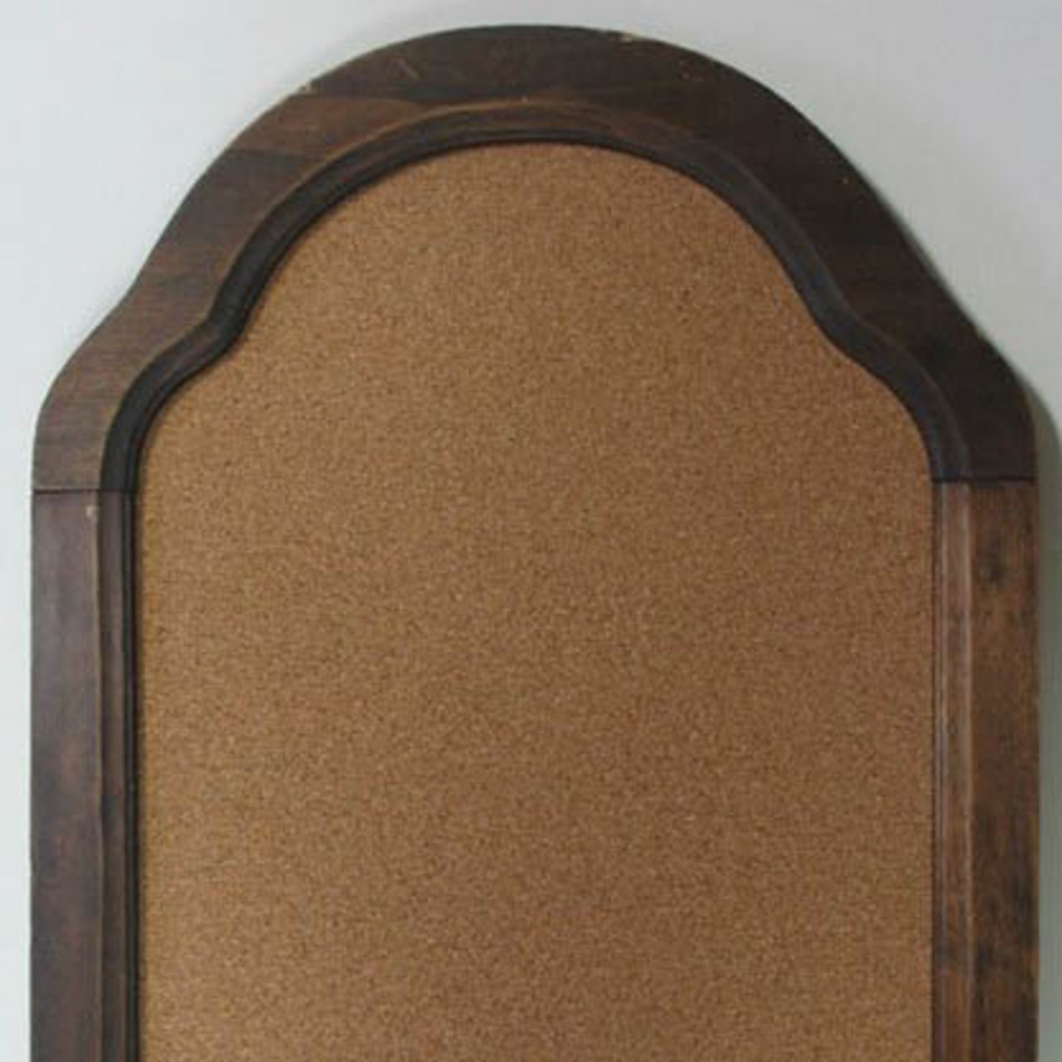 Cork board from an old mirror