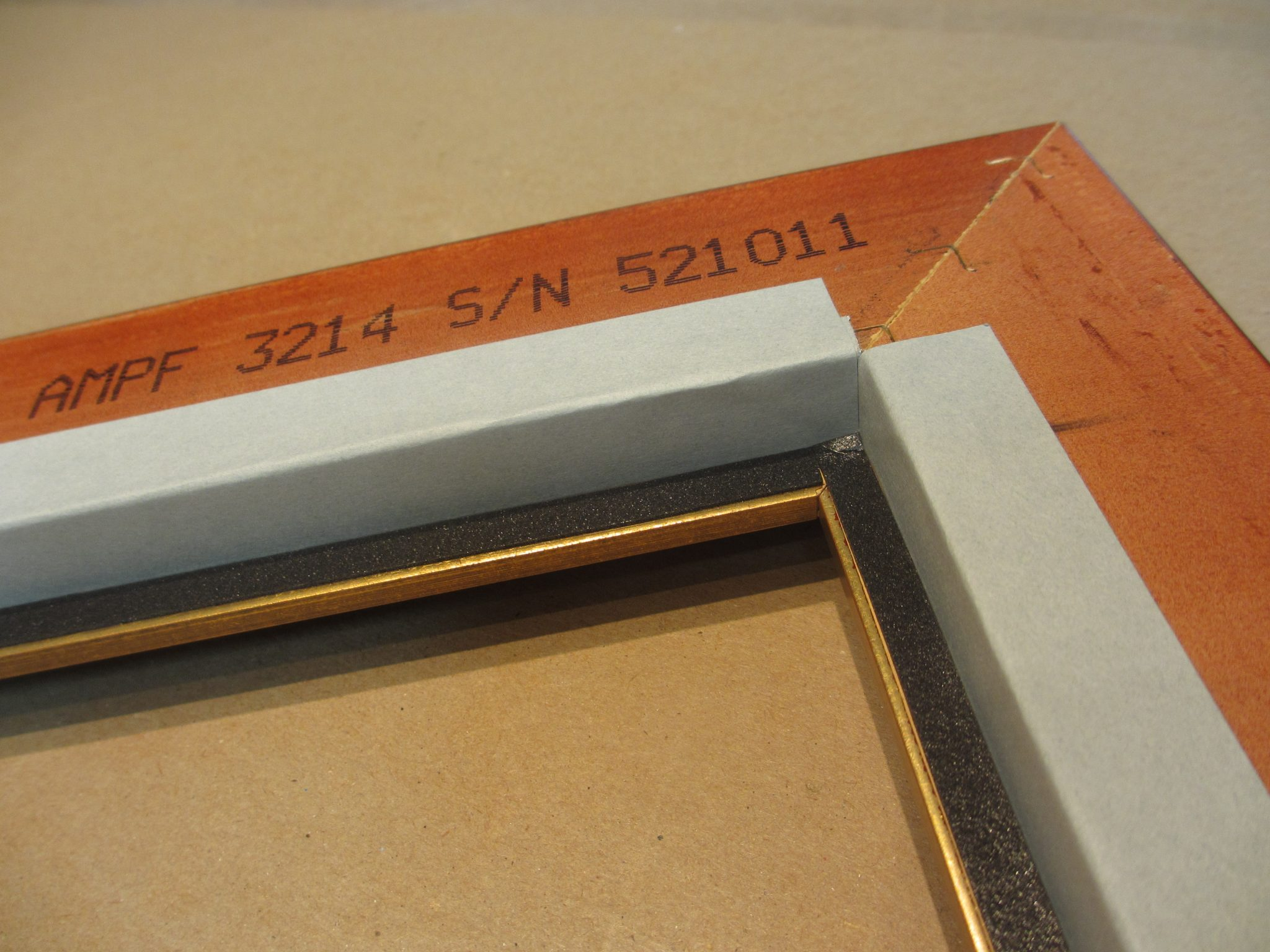 Aluminum Barrier Tape - Rose City Framemakers - Sparta NJ - Custom Framing