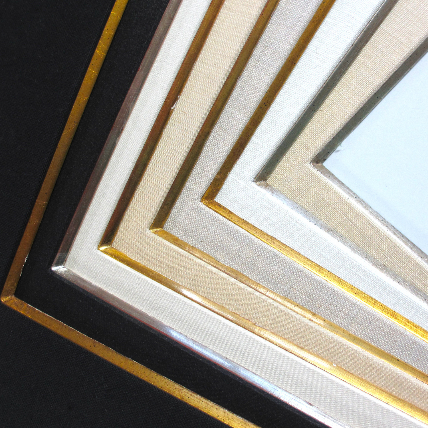 Gold Matted Frame