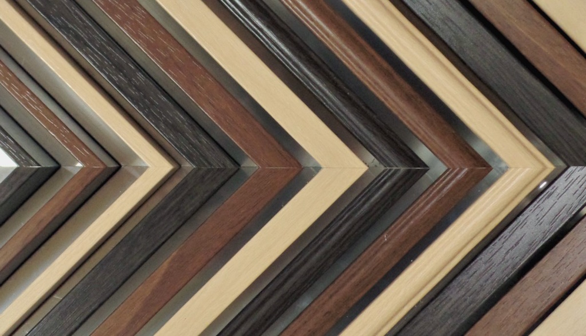 Forged Woods - Nielsen Moulding - Rose City Framemakers - Sparta NJ - Custom Framing