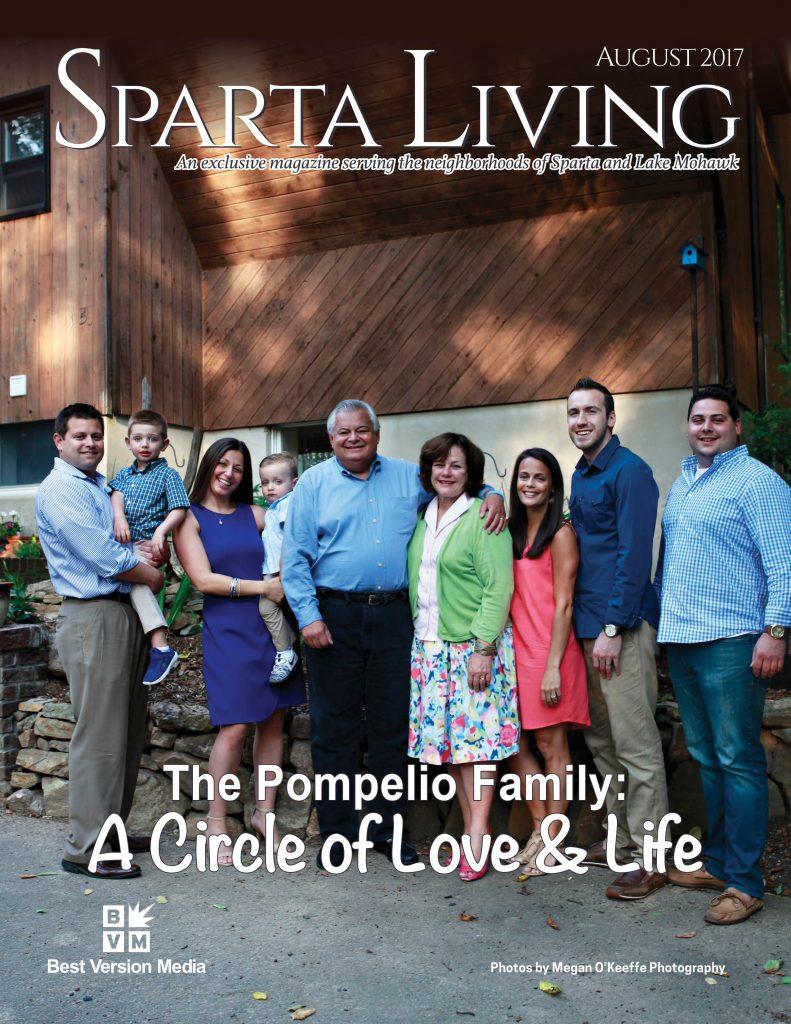 Sparta Living cover - Custom Framing - Rose City Framemakers - Sparta NJ