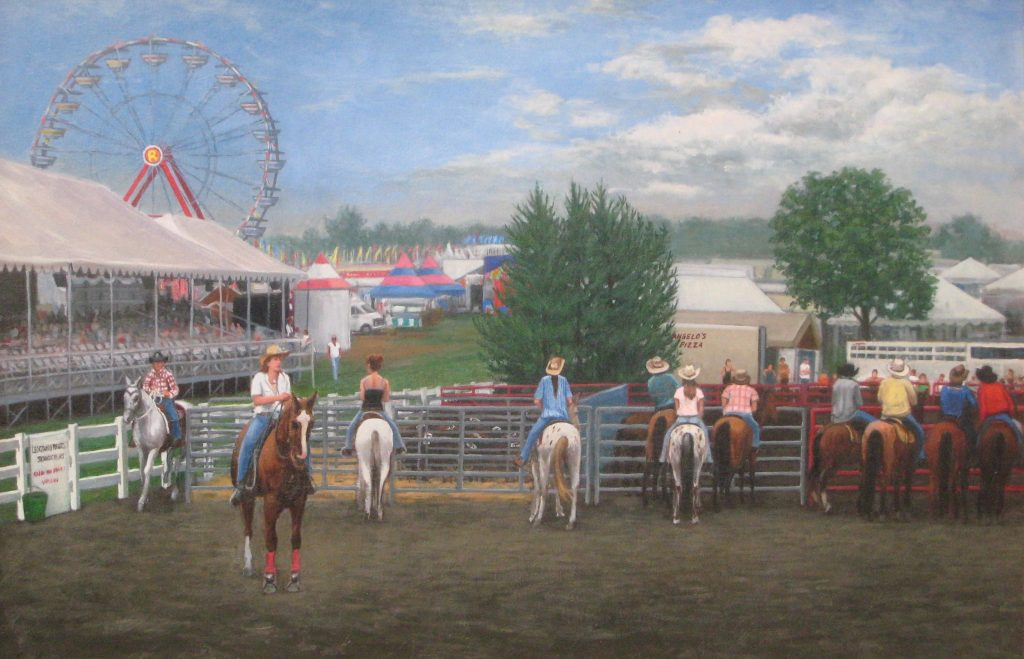 At the fair - Artists on Display - Custom Framing - Rose City Framemakers - Sparta New Jersey - New York